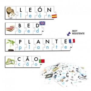Los puzles de palabras son una forma lúdica de aprender la lectoescritura