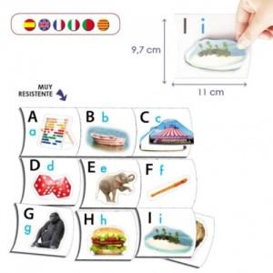 los puzles de letras ayudan a tomar conciencia de las sílabsa trabadas