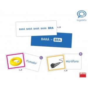el método logo-bit ayuda a trabajar la discriminación sonora de los fonemas y transcribir las palabras