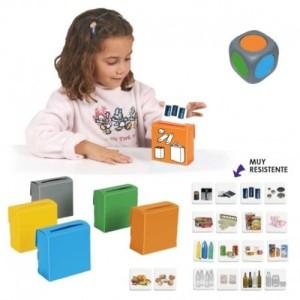 los juegos de reciclaje son útiles para enseñar ecología