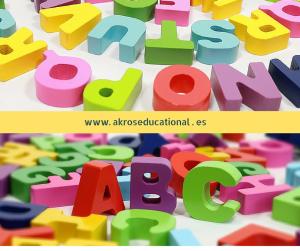 Las letras y símbolos en 3D es útil en las dificultades de aprendizaje para realizar tareas multisensoriales