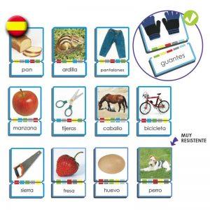 los autodictados permiten trabajar la lectura global y las sílabas trabadas.