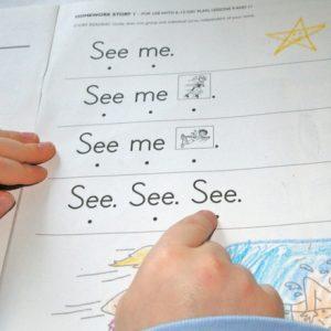 trabajar los fonemas escritos como tratamiento del retraso simple del lenguaje