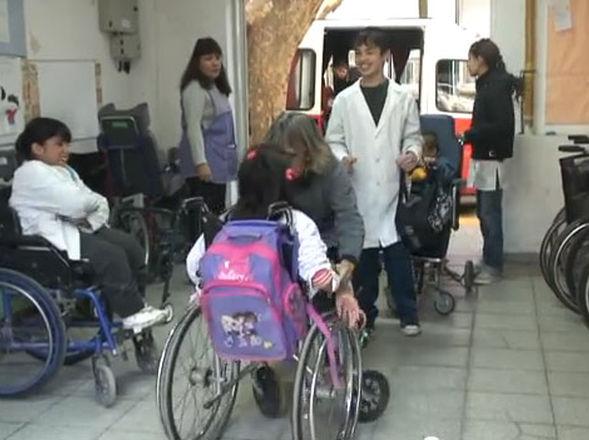 Discapacidad motriz en la escuela