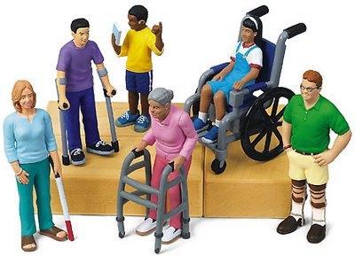 Dibujo de discapacidades motrices