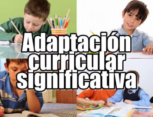 ¿Qué es una adaptación curricular significativa o ACI?