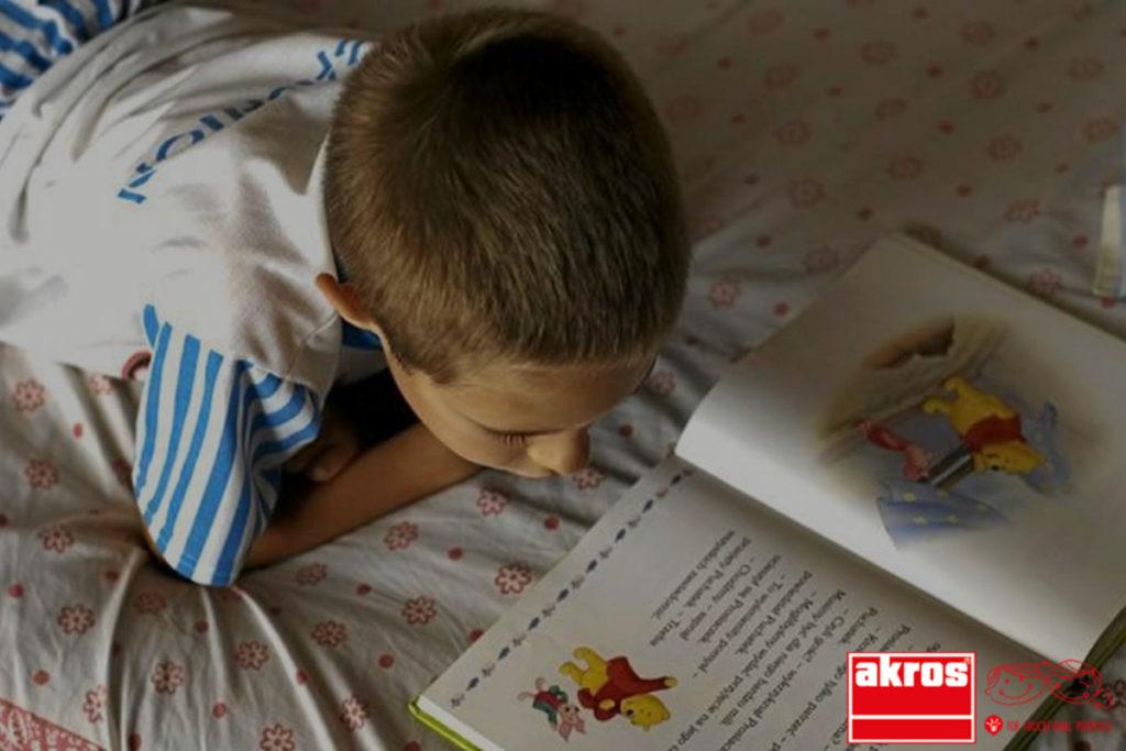 Esto puede llegar a desaparecer cuando los niños se vuelven lectores habituales