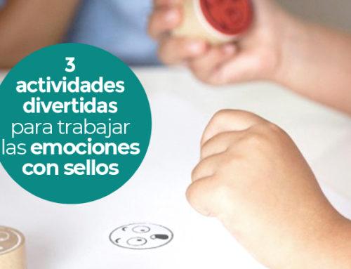 3 divertidas actividades para ayudar a los niños a gestionar las emociones con los Maxi-Sellos de las 10 emociones