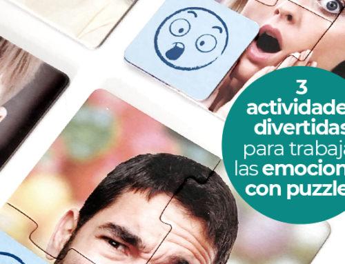 Puzzles 10 emociones: un divertido juego para trabajar las emociones con los niños